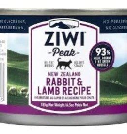 Ziwi Peak ZIWI Rabbit & Lamb Wet Cat Food 185g