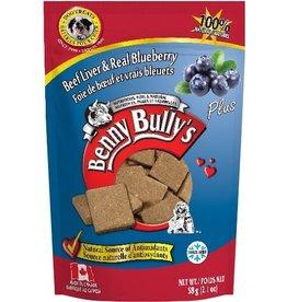 Benny Bully's Benny Bully's Dog Liver Plus Blueberry 58g
