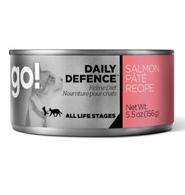 Go! Go! CAT Cans Daily Defence Salmon Pate 5.5oz