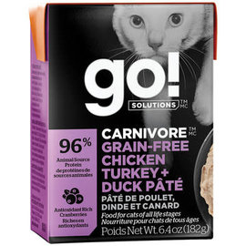 Go! Go! Cat - Chicken/Turkey/Duck 6.4oz