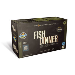 Big Country Raw Big Country Raw - Fish dinner 4lb