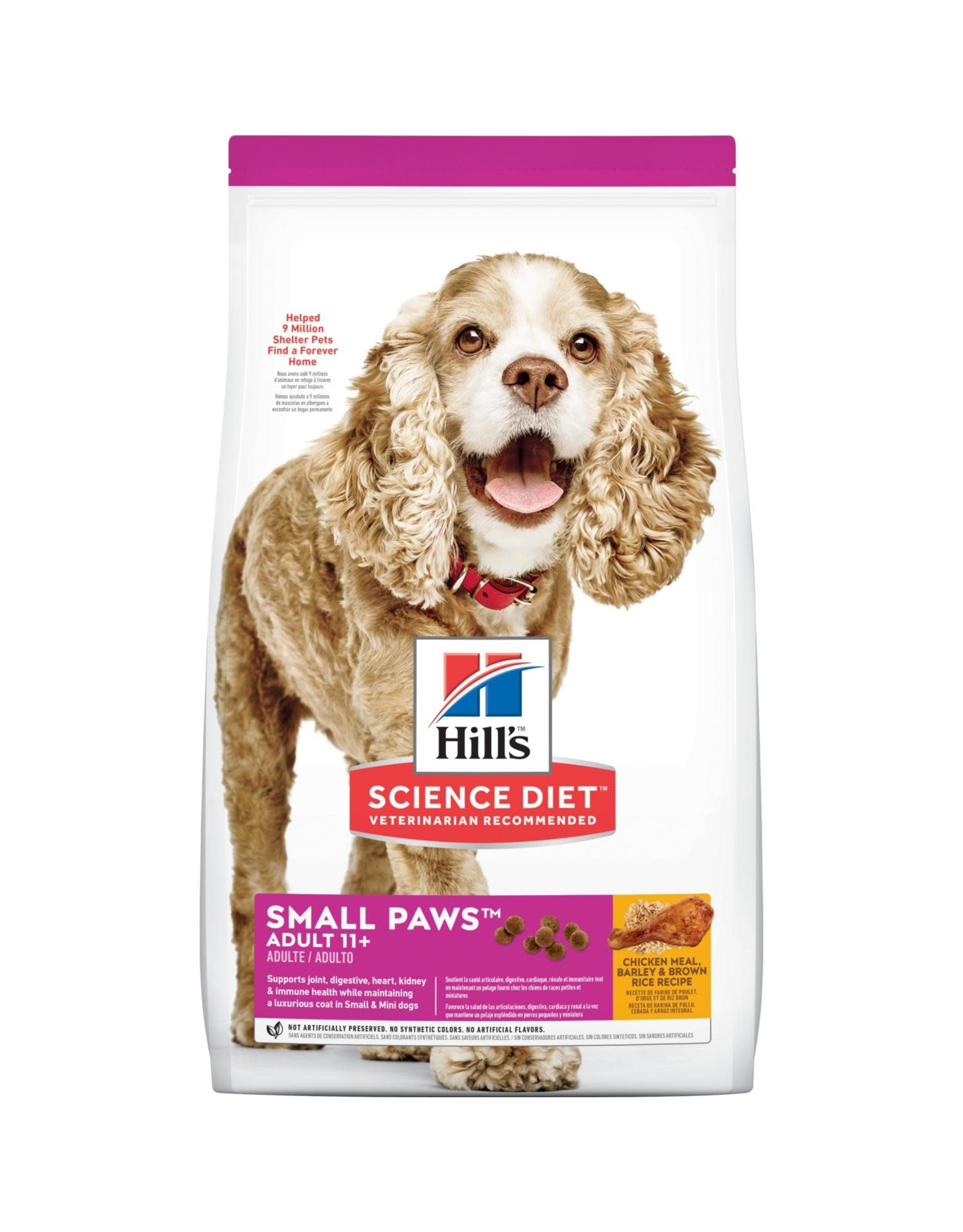 Science Diet Science Diet Dog - Small Paws Adult 11+ 4.5lb