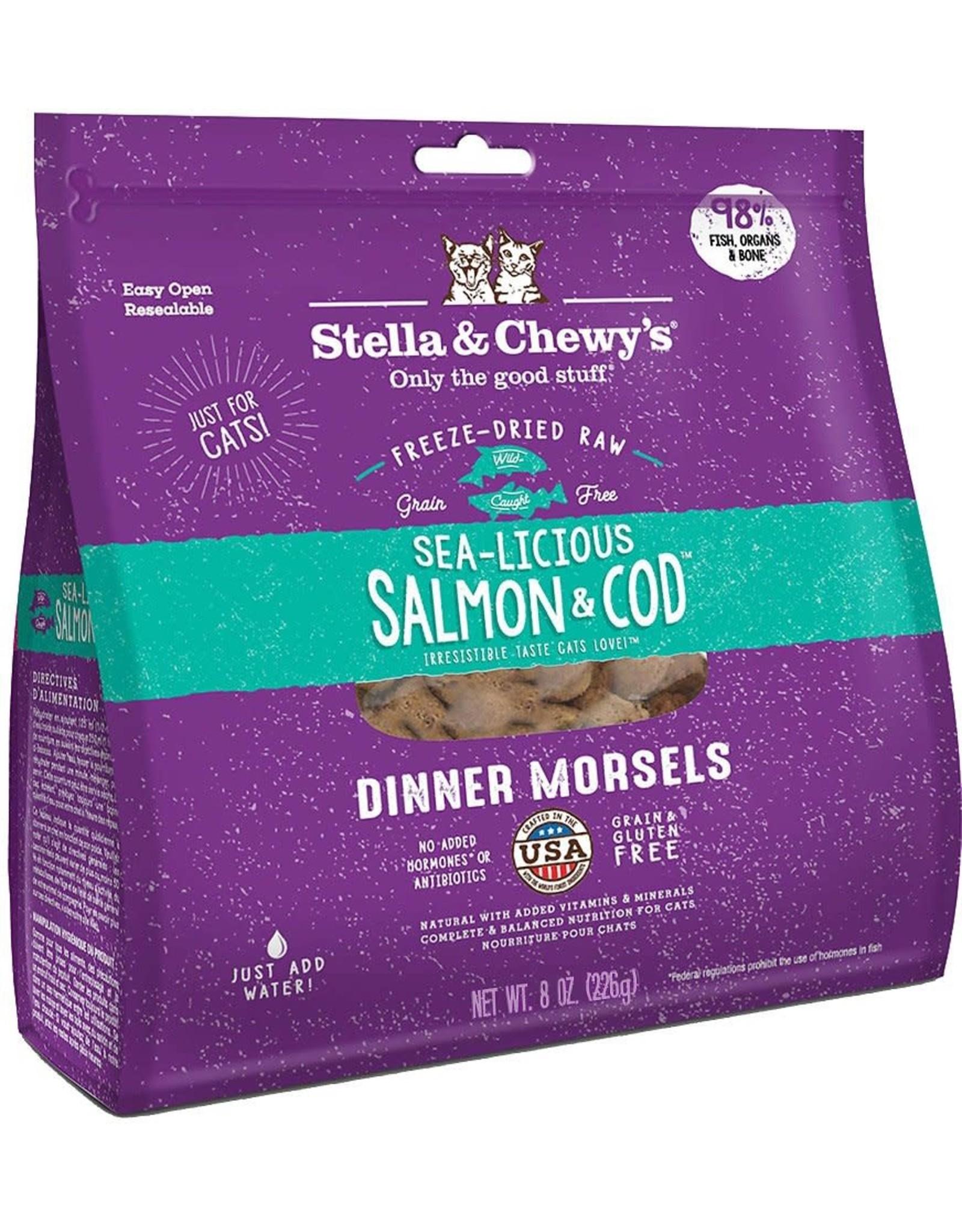 Stella & Chewy's Stella & Chewy's Cat -  Salmon & Cod 9oz