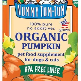 nummy tum tum Organic Pure Pumpkin for Cat & Dog Nummy Tum-Tum 15oz