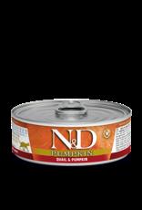 Farmina N&D Pumpkin Cat - Quail/Pumpkin/Pomegranate 80g