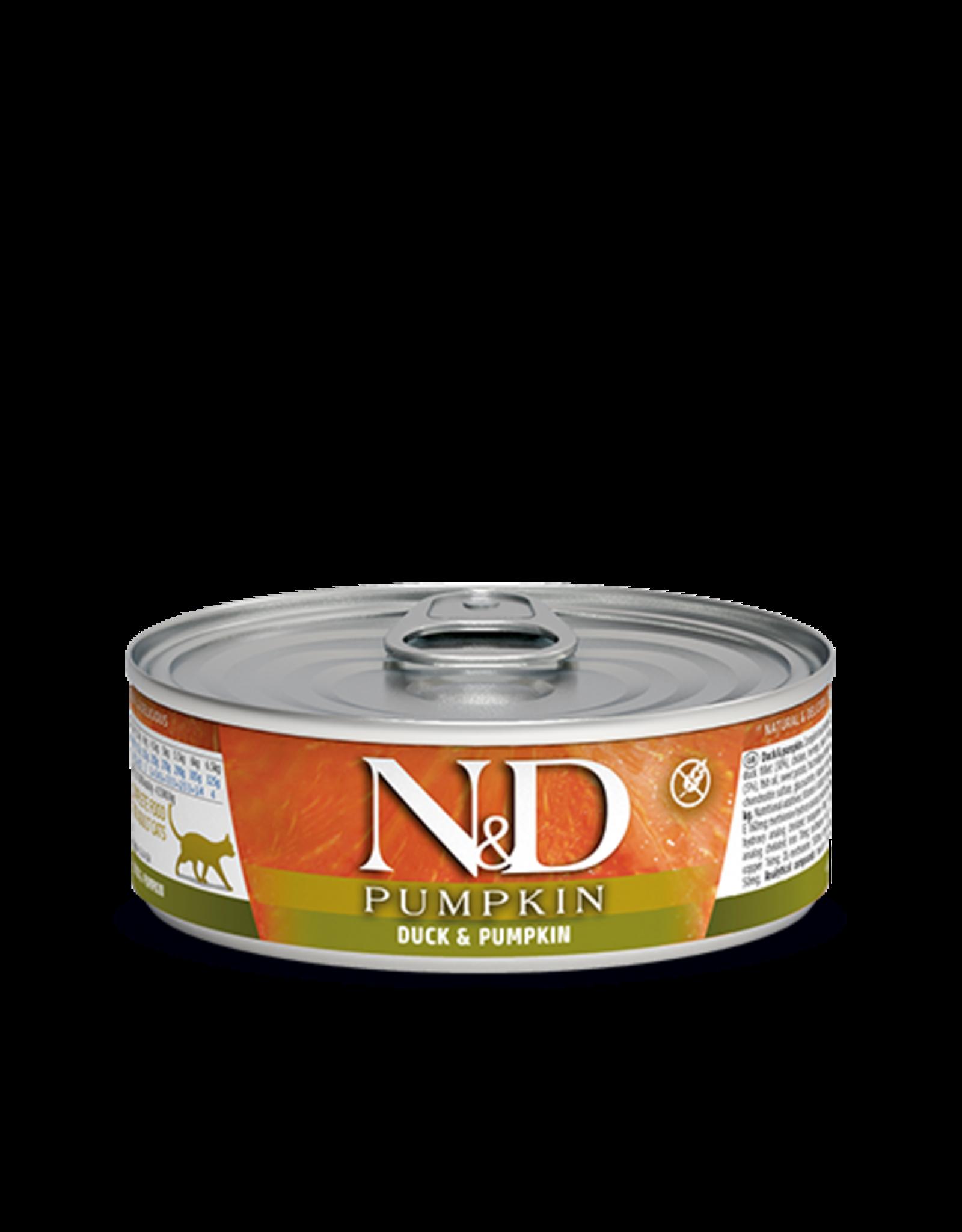 Farmina N&D Pumpkin Cat - Duck/Pumpkin/Cantaloupe 80g
