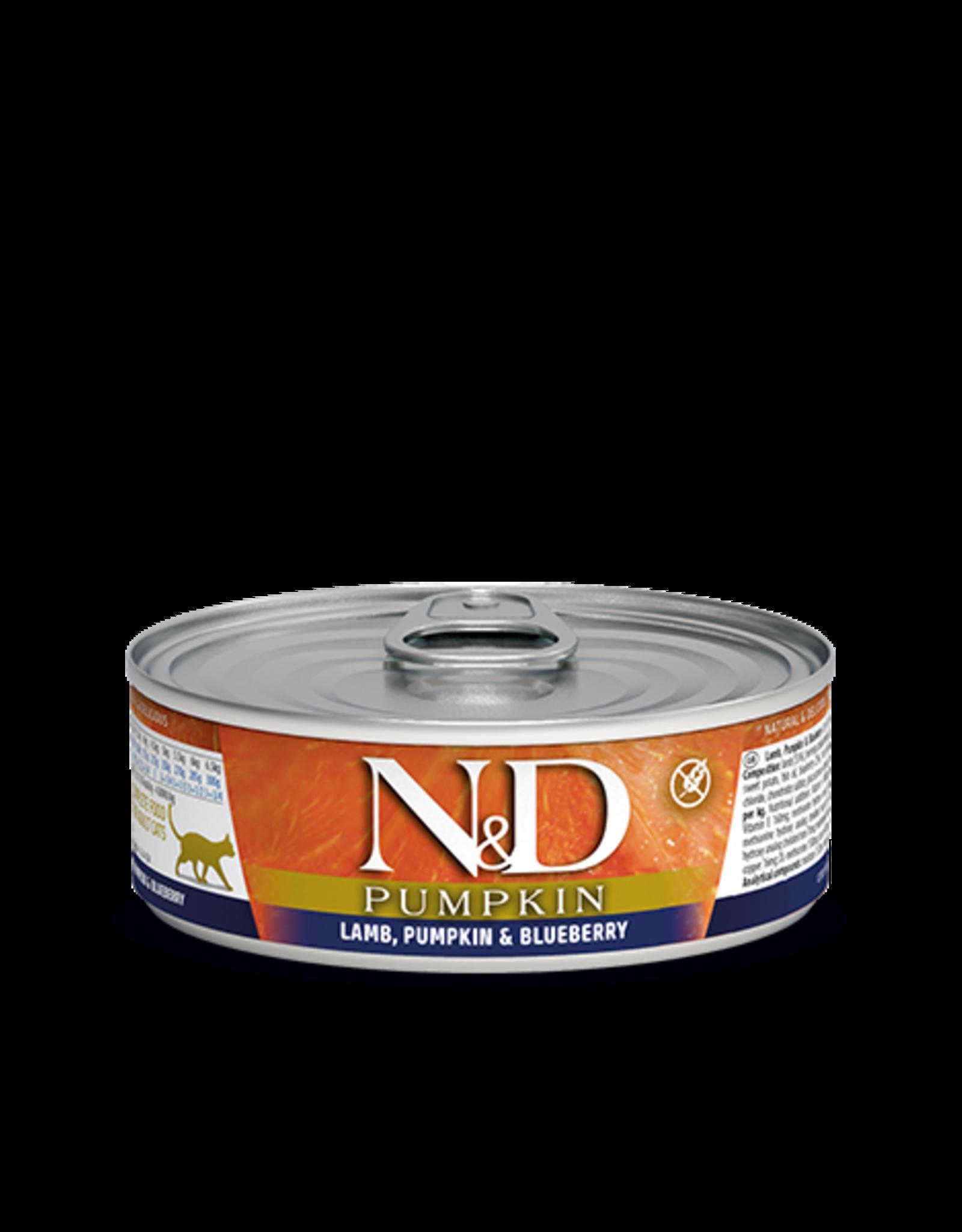 Farmina N&D Pumpkin Cat - lamb-blue berry 2.8oz