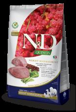 Farmina N&D Dog - Weight Management Quinoa & Lamb