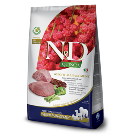 Farmina N&D Dog - Quinoa Weight Management Lamb