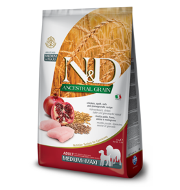 Farmina N&D Dog - Grain Adult Chicken Med/Max