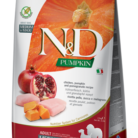 Farmina N&D Dog - Pumpkin & Chicken Adult Med/Max 26.5lb