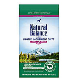 Natural Balance Natural Balance Dog - Lamb/Rice Small Breed 4.5lb