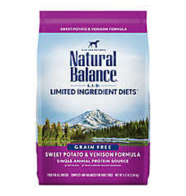 Natural Balance Natural Balance Dog - Potato/Venison 4.5lb