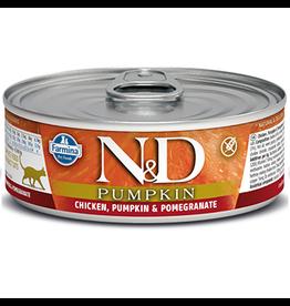 FARMINA PET FOOD USA LLC N&D PMKN CKN/P/P CAT 12/2.8Z
