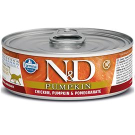 Farmina N&D Cat Wet - Pumpkin Chicken & Pomegranate 2.8oz