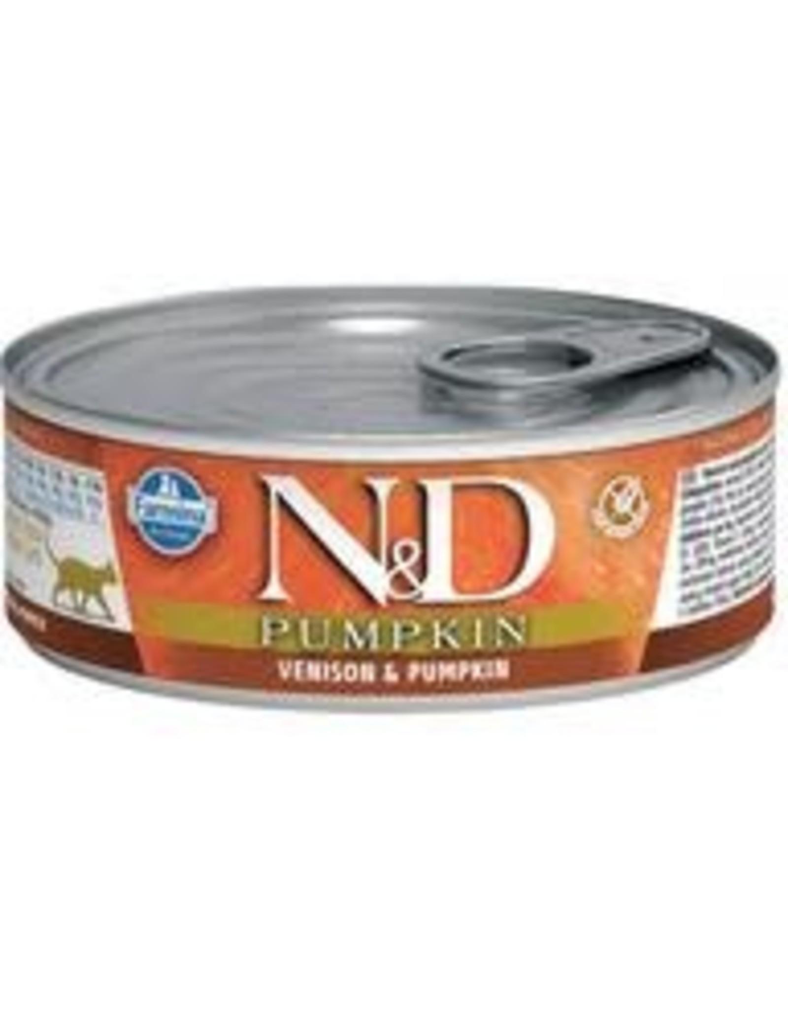 FARMINA PET FOOD USA LLC N&D PMKN VNS/A CAT 12/2.8Z