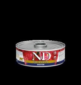 FARMINA PET FOOD USA LLC N&D QUINOA DIGESTION LAMB CAT 12/2.8Z