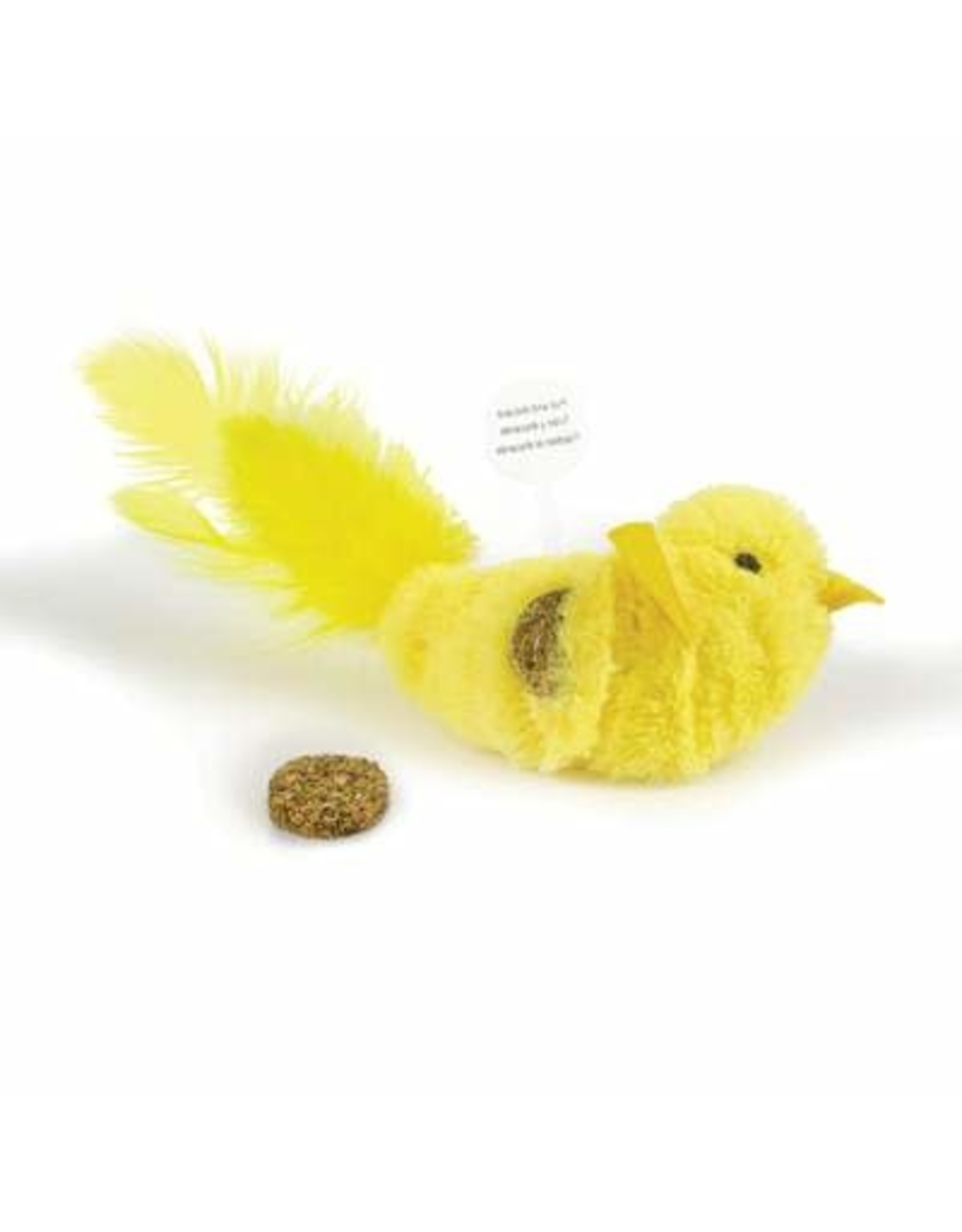Our Pets Company OP Yellow Fellow Cat Toy