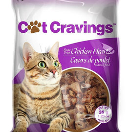 cat cravings PETZ CAT FD CHICKEN HEARTS 35g