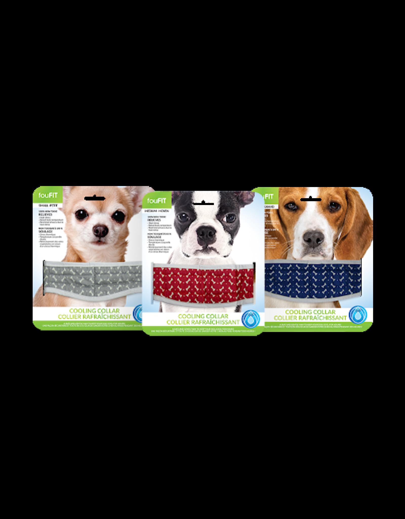 foufit foufit dog cooling bandana small