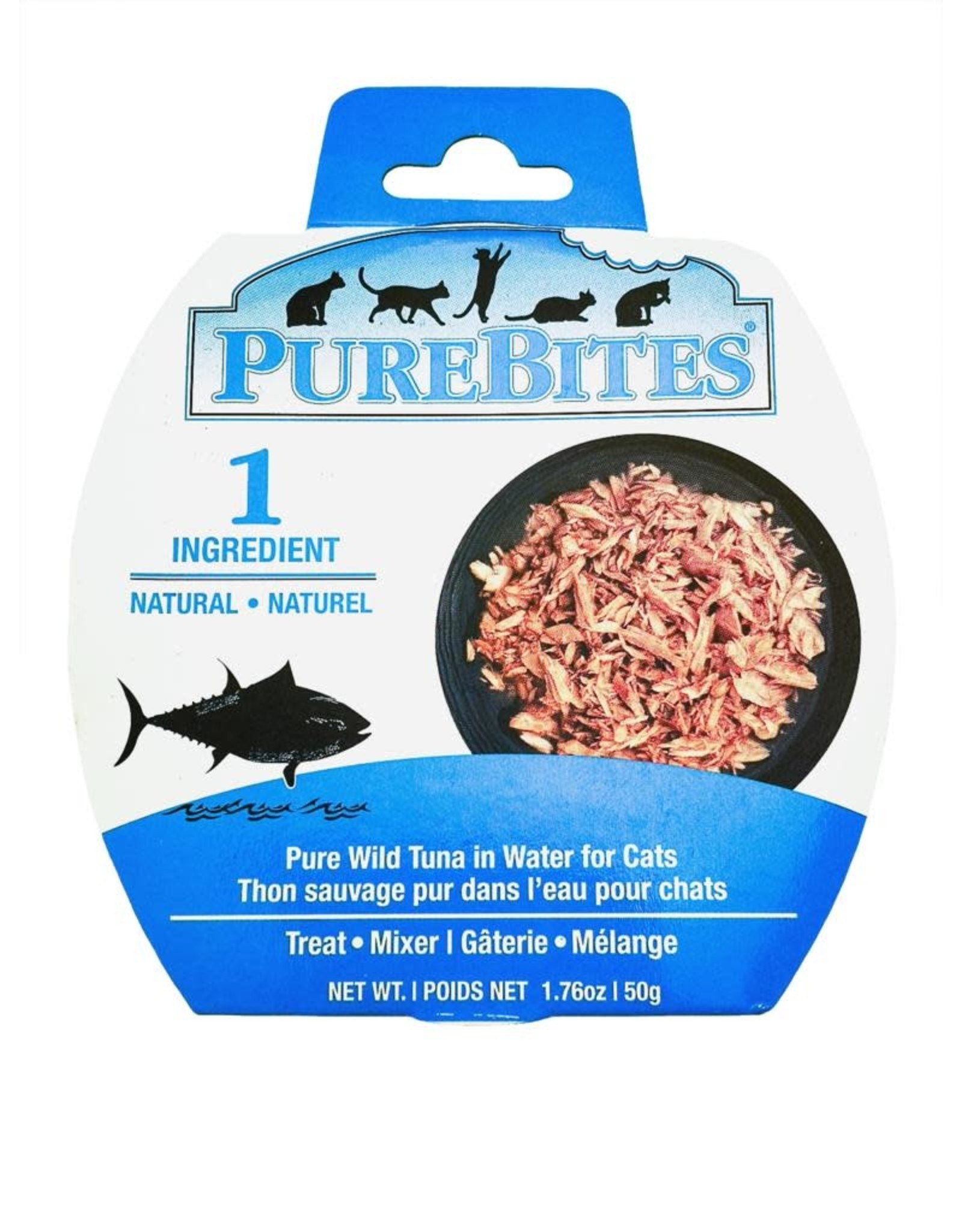 Pure Bites PureBites Mixers Tuna in Water 1.76oz/50g (12)