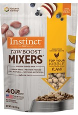instinct instict raw boost mixtures freeze dried chicken recipe  for cats 6oz