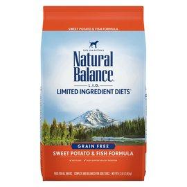 Natural Balance Natural Balance Dry Dog LID Grain Free Salmon & SP 4LB