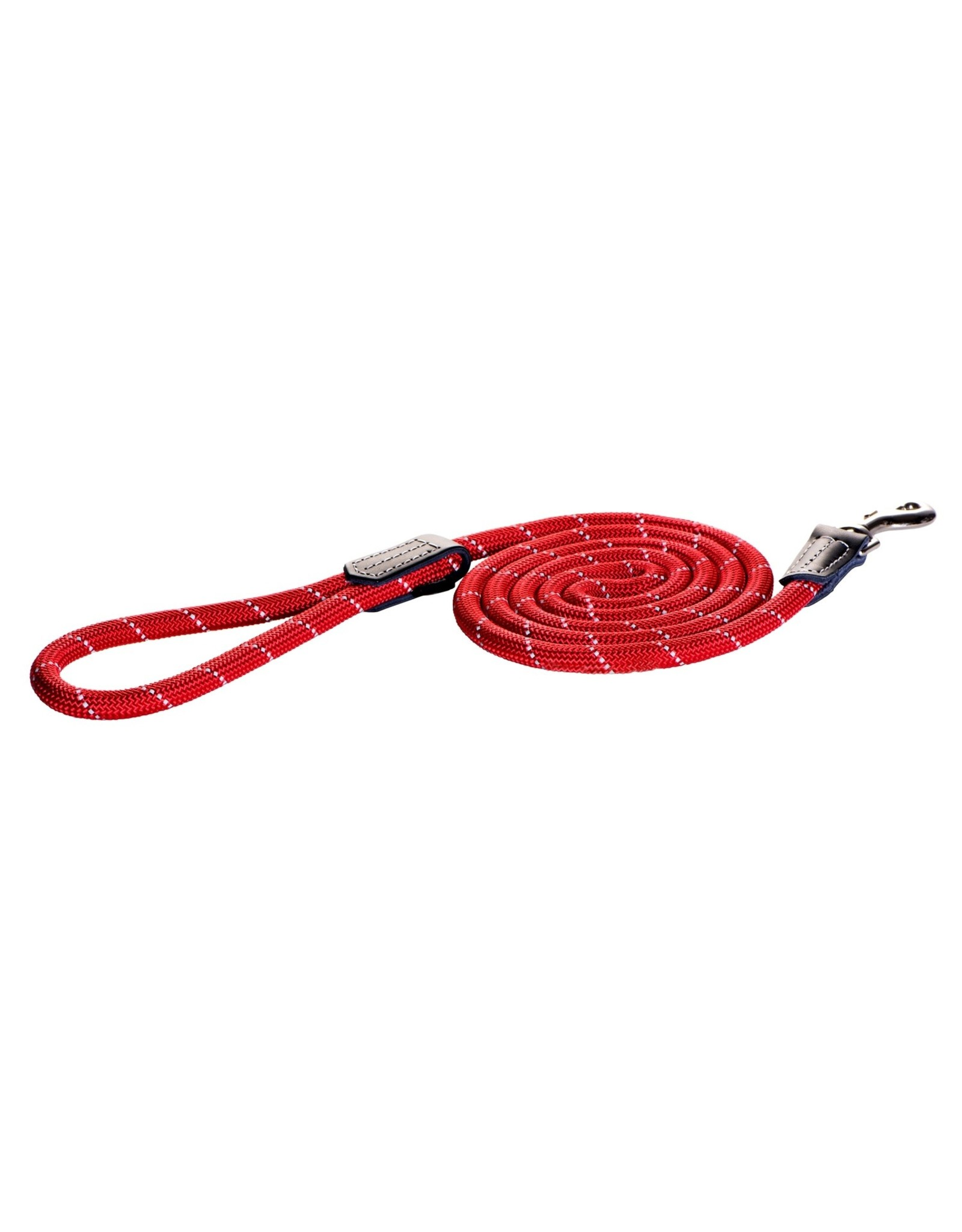 Large Rope Lead Red 1/2x6ft