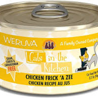 Weruva Cats in the Kitchen Chicken Frick 'A Zee 6oz Cans