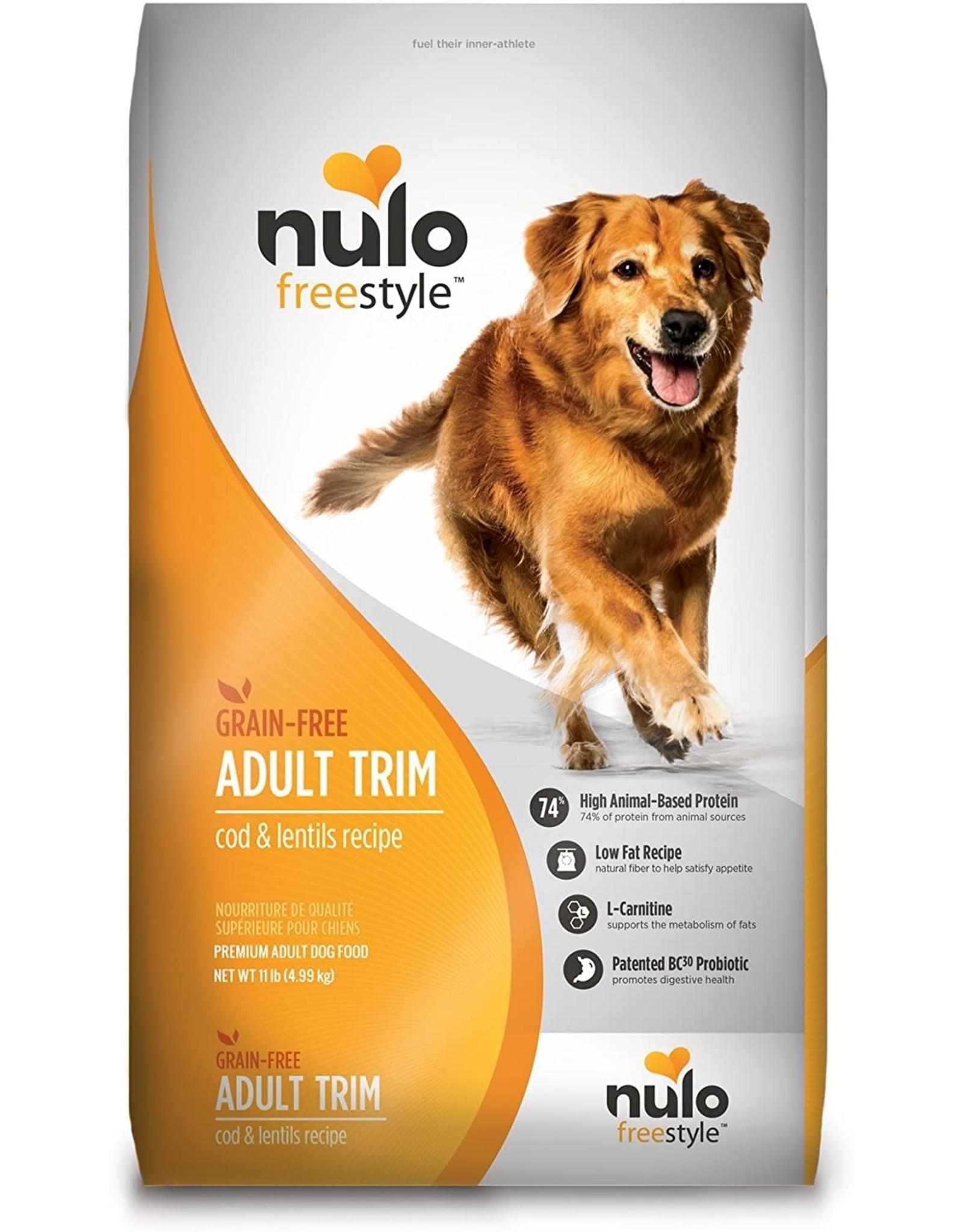 Nulo NUL DRY TRIM COD/LENTILS 11lb