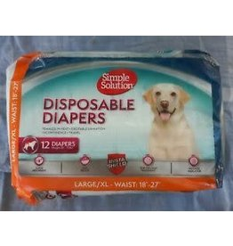 BRAMTON DIAPER DISPOSABLE 10585 LRG 12PK 12/CS BRAMTON