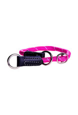 Rogz Half-Check Collar Medium Pink
