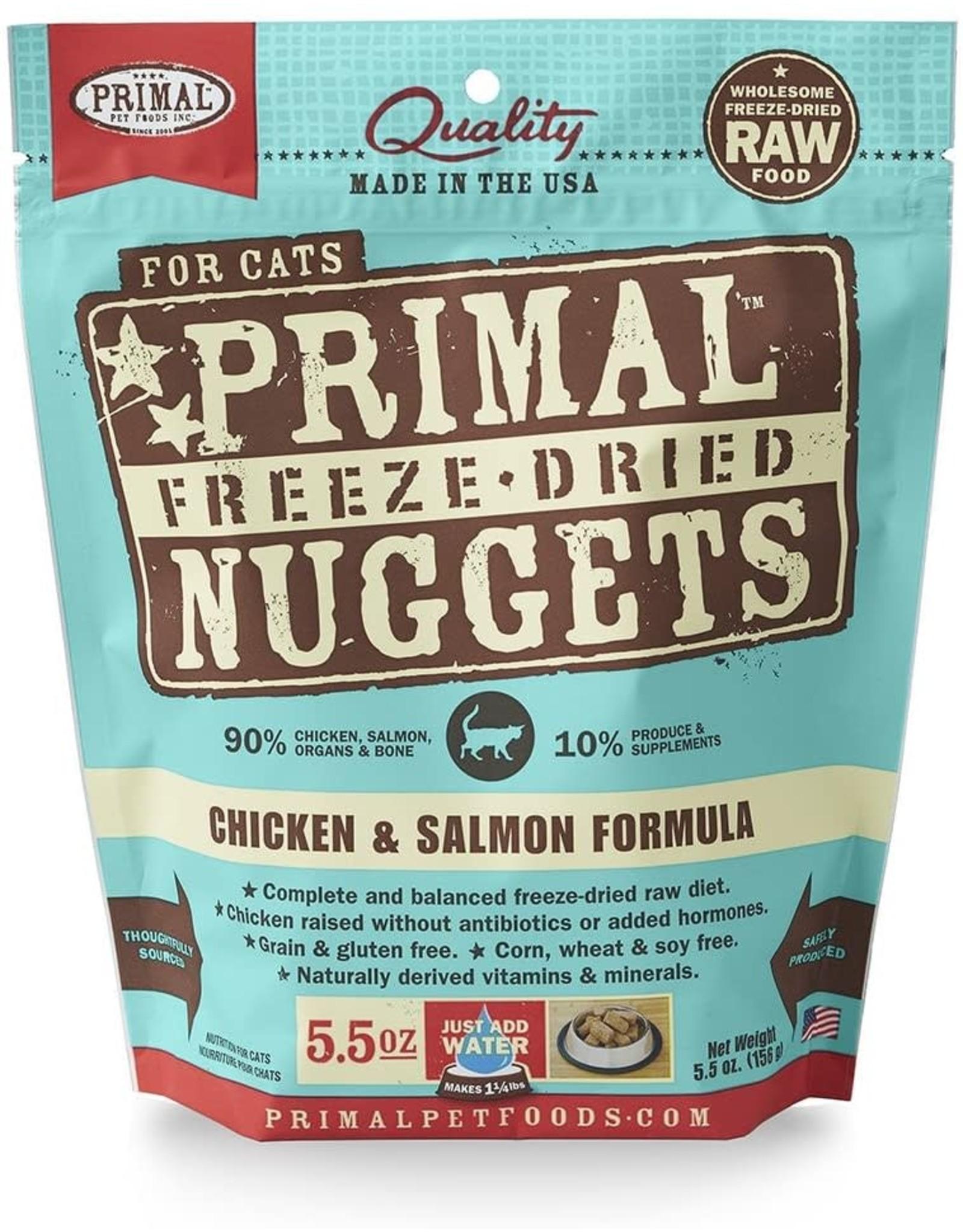 Primal Primal Cat - Chicken/Salmon 5.5oz