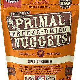 Primal Primal Dog - Freeze Dried Nuggets Beef 5.5oz