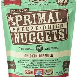 Primal Primal Dog Freeze Dried Nuggets Chicken 5.5oz