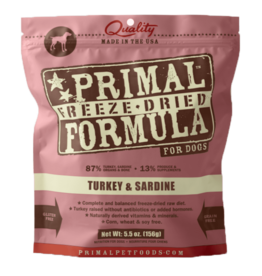Primal Primal Dog - Turkey/Sardine 5.5oz
