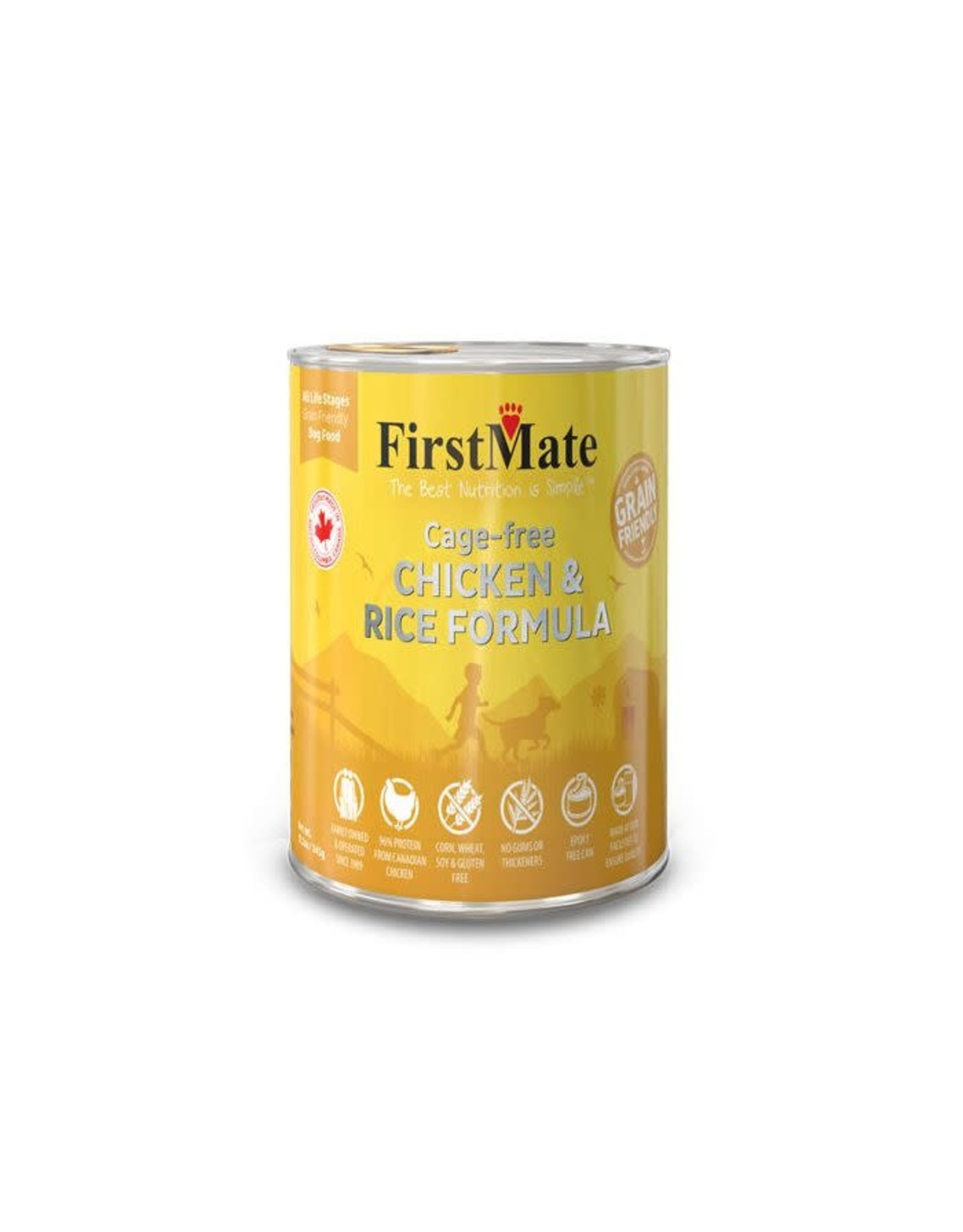 FirstMate FirstMate Dog - Chicken 12.2oz