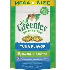 Greenies Greenies Feline SmrtBite HairBll Cnt Tuna 2oz