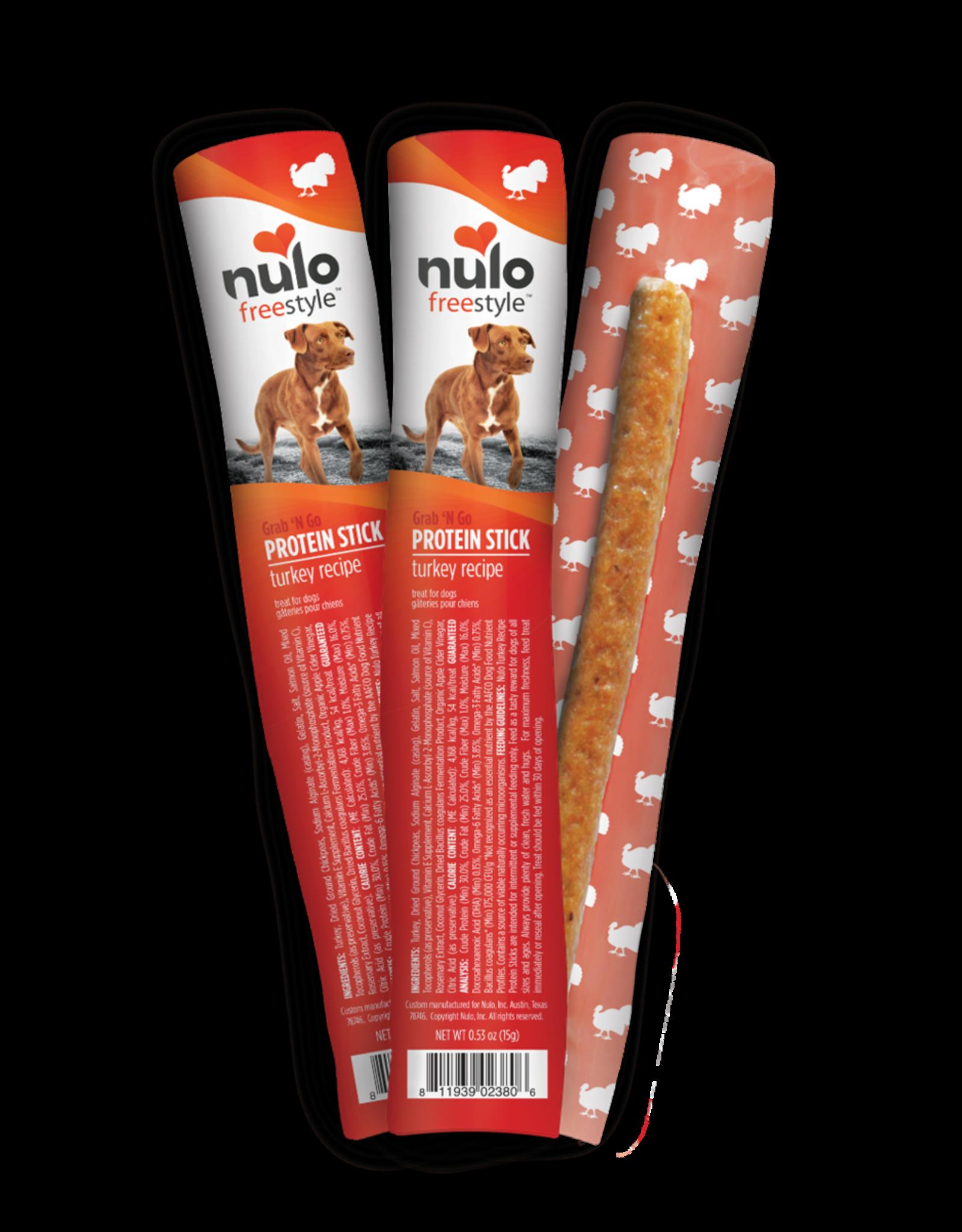 Nulo Nulo Dog - Protein Sticks Turkey 15g