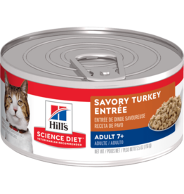 Science Diet Science Diet Cat - Turkey 7+ 5.5oz