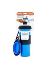 Dexas SnackDuo 24oz bottle (blue)