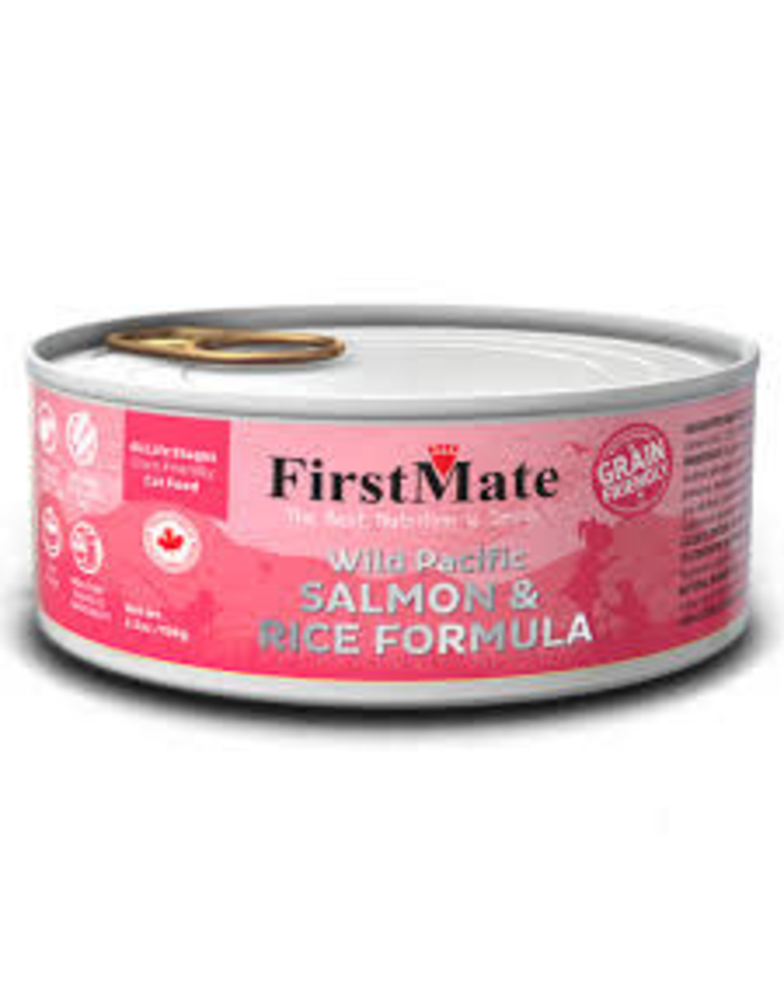 FirstMate FirstMate Cat - Salmon 5.5oz