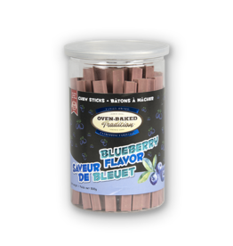 Oven Baked Oven Baked - Blueberry Flavour Chewsticks 500g