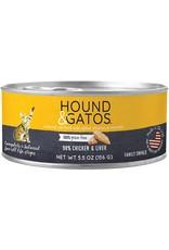 Hound & Gatos Hound & Gatos Cat - Chicken 5.5oz