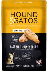 Hound & Gatos Hound & Gatos Cat - Chicken 2lb
