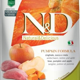 Farmina N&D Dog - Pumpkin & Boar Adult Med/Max 26.5lb