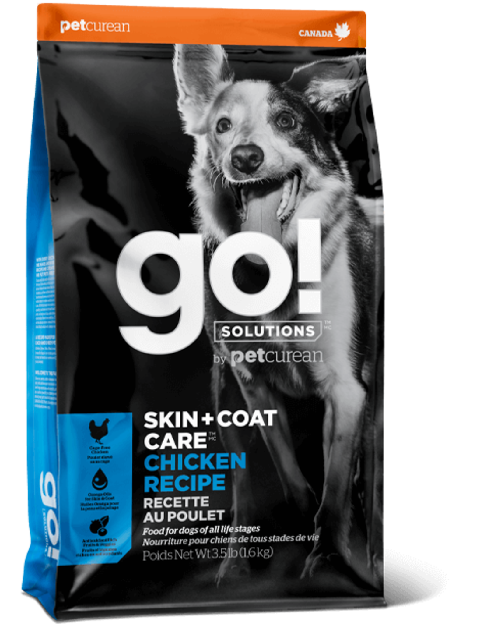 Go! Go! Dog - Skin+Coat Chicken 3.5lb
