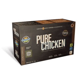 Big Country Raw Big Country Raw - Pure Chicken Carton  4lb