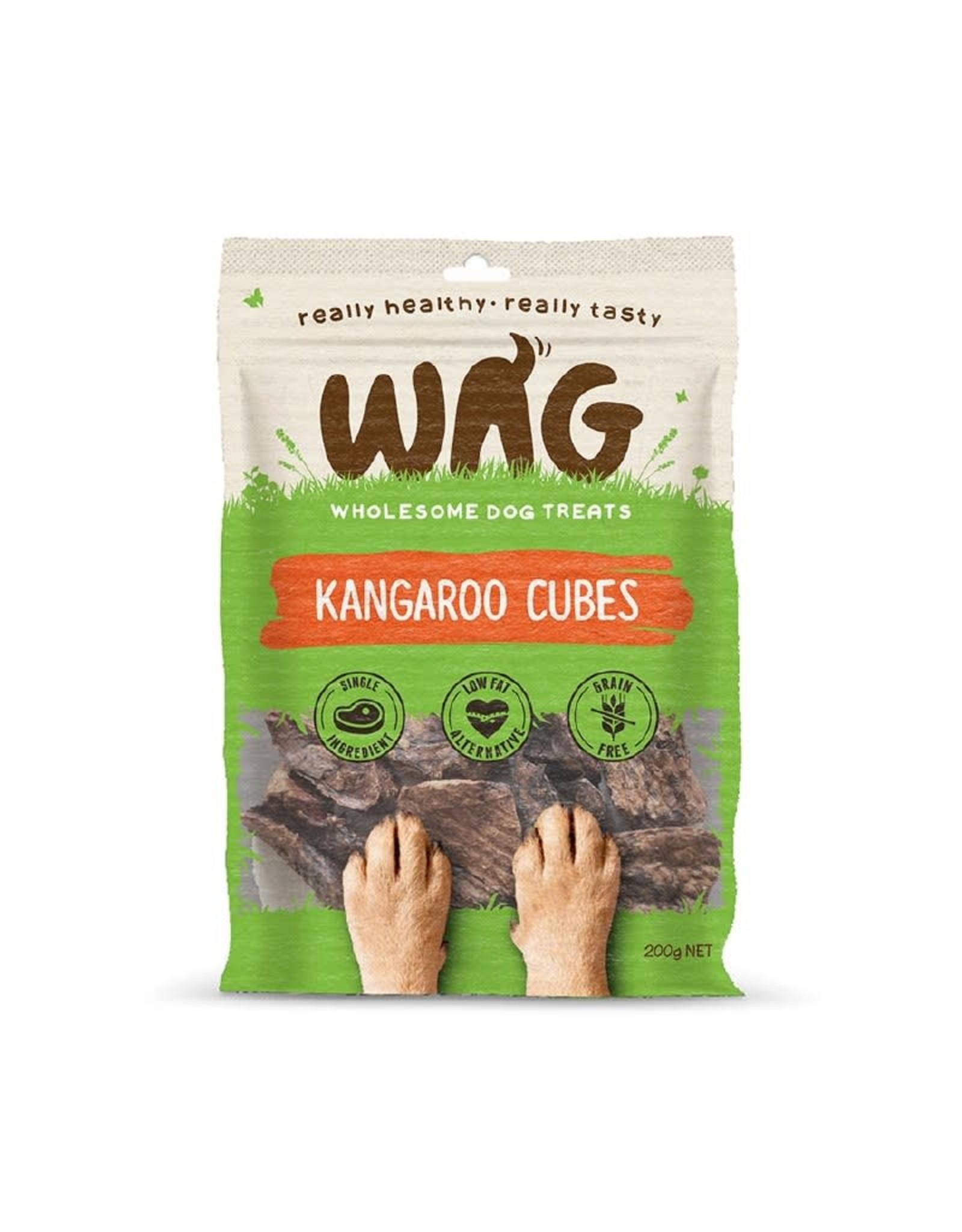 Get Wag Get Wag - Kangaroo Cubes 200g