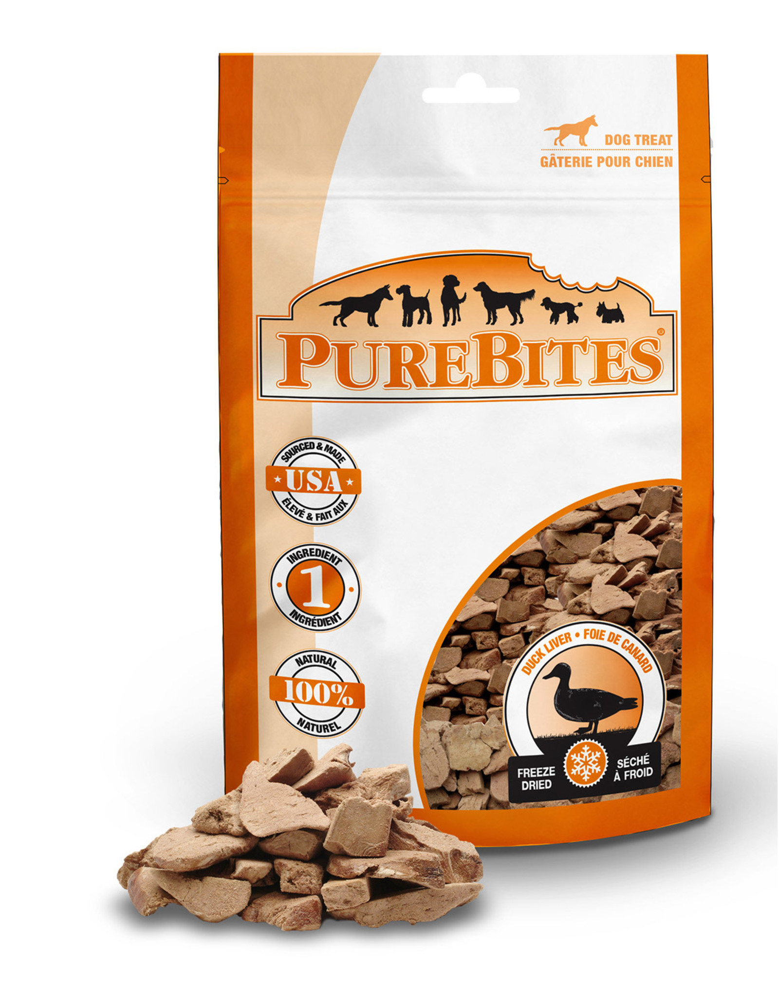 Pure Bites Purebites - Duck Treat 35g